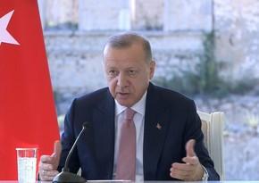 Türkiyə Prezidenti: Hava limanları inşa edildikdən sonra bu yerlərə gəliş-gedişlər də artacaq