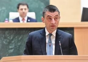 """Giorgi Qaxariya: """"Şahdəniz""""dən Avropaya qaz tədarükünə başlanılmasıböyük addımdır"""""""