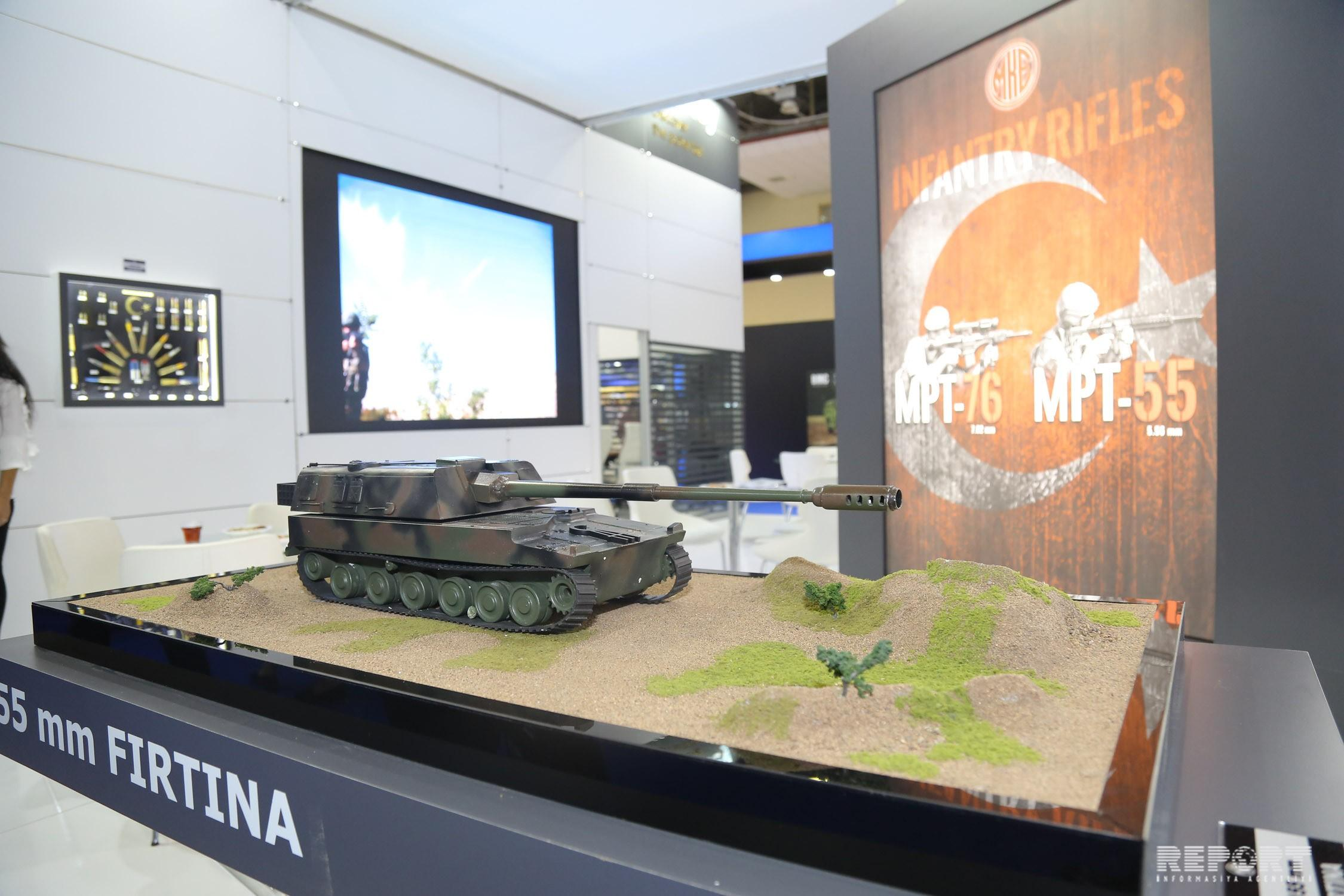 3rd Azerbaijan International Defense Exhibition opens in Baku