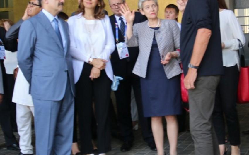 Azərbaycanla UNESCO arasında münasibətlərin gələcək perspektivləri müzakirə edilib