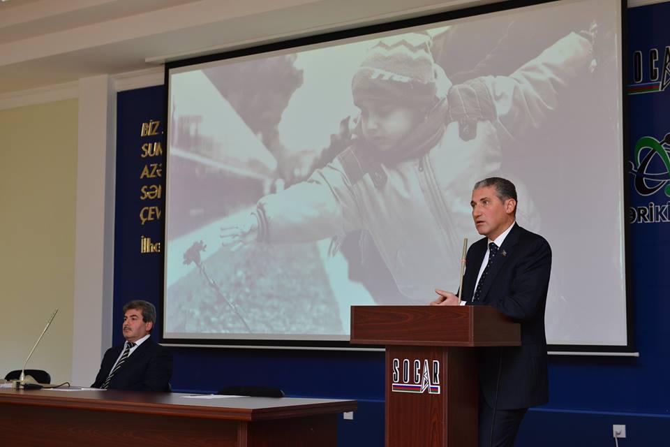 SOCAR-ın idarə və müəssisələrində 20 Yanvar şəhidləri anılıb