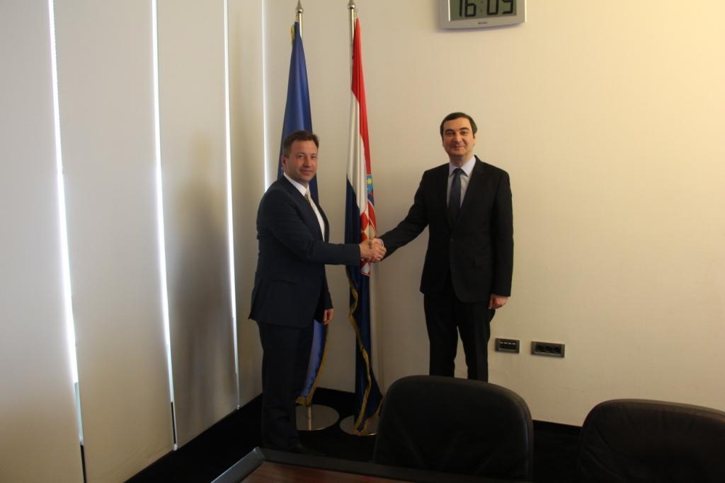 Азербайджан и Хорватия выразили интерес в расширении бизнес связей