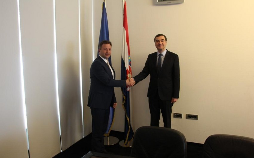 Azerbaijan and Croatia expressed interest in business relations expansion
