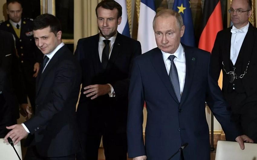 Putinlə Zelenski arasında görüş başa çatıb - YENİLƏNİB