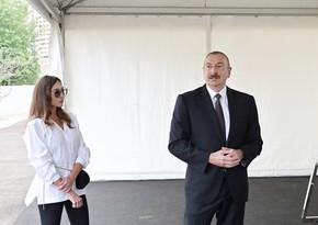 Ильхам Алиев и Мехрибан Алиева встретились с представителями общественности Губадлы