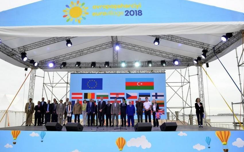 """Bakıda """"Avropa Şəhərciyi-2018"""" festivalı keçirilir"""
