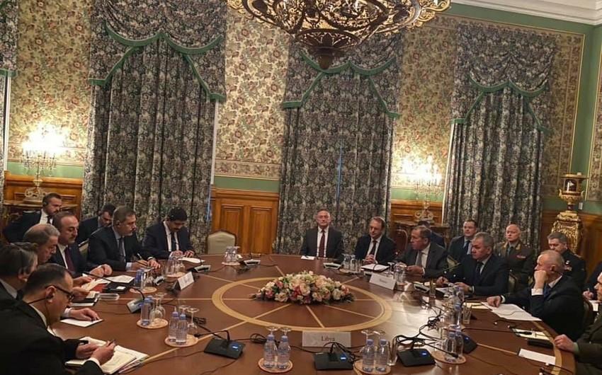Moskvada Liviya münaqişəsinə dair danışıqlar davam edir - YENİLƏNİB