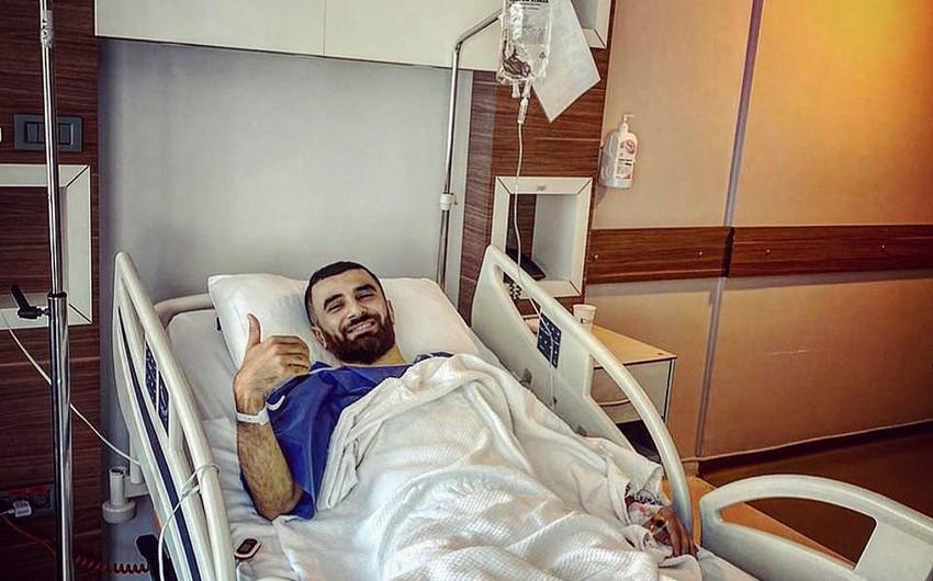 Millimizin sabiq futbolçusu Türkiyədə əməliyyat olundu