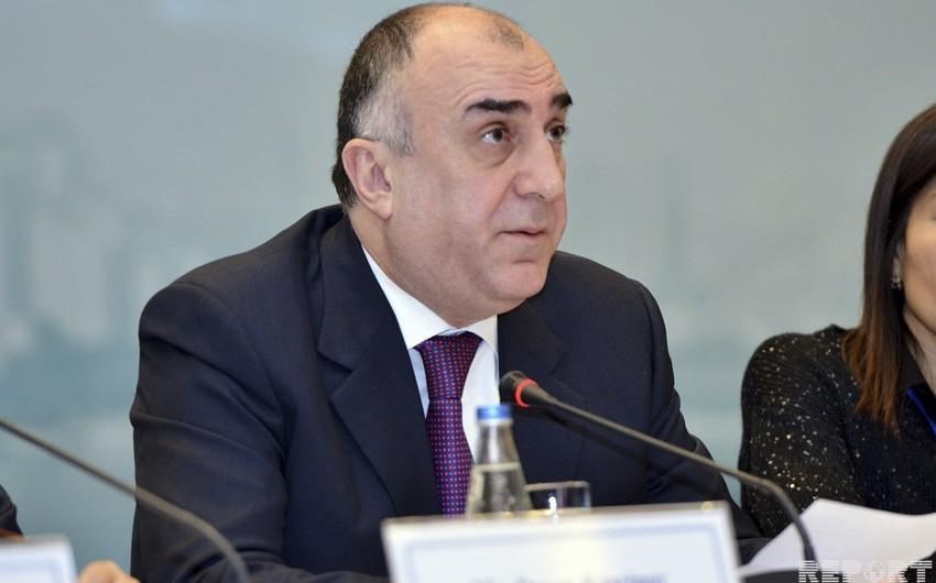 Azerbaijani FM offers sports cooperation between GUAM member states