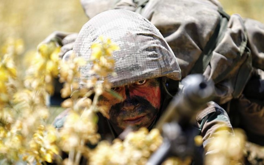 Türkiyə ordusu Suriyanın şimalında daha 4 terrorçunu zərərsizləşdirib