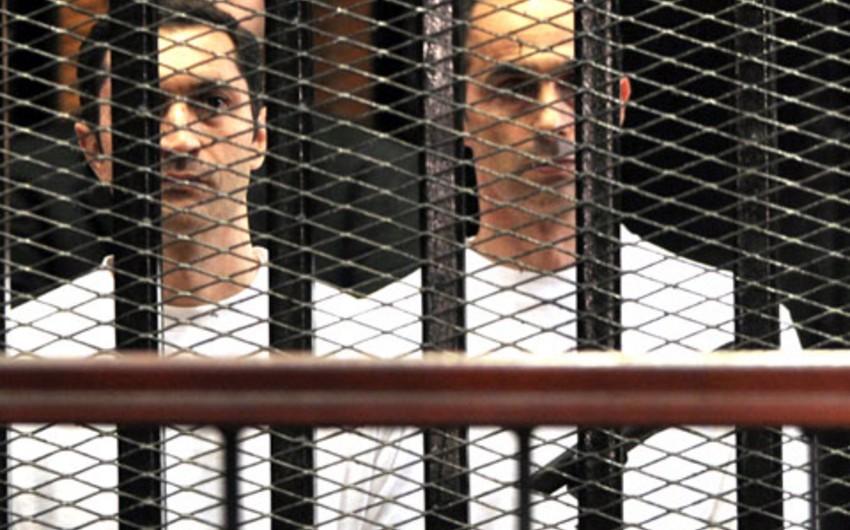 Misirin sabiq prezidenti Hüsnü Mübarəkin oğulları azadlığa buraxılıb