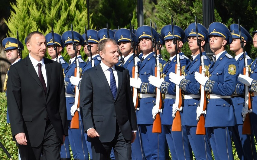 Visit of the President of the European Council to Azerbaijan ends