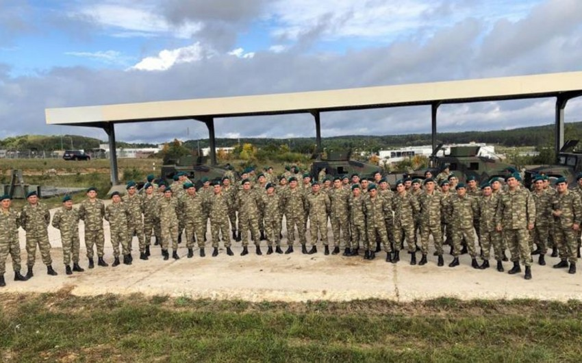 Defence Ministry: Azerbaijani servicemen who took part in the exercises in Germany have worthily coped with the tasks