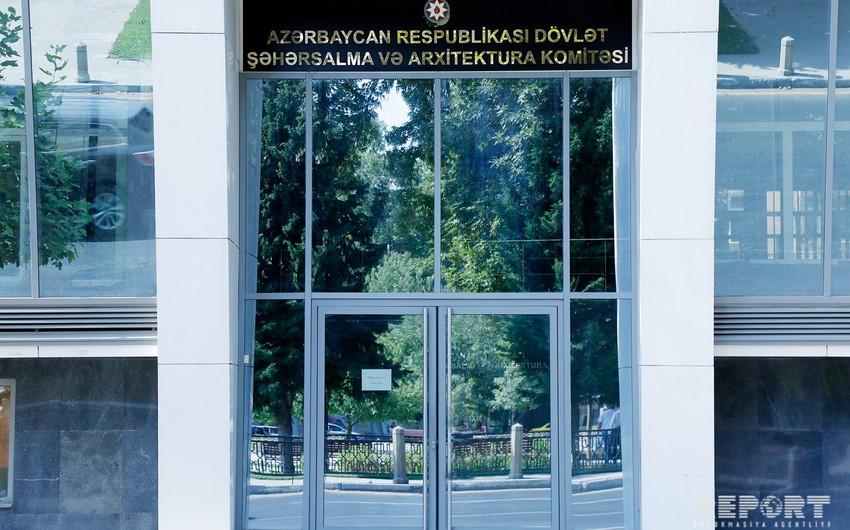 Dövlət Şəhərsalma və Arxitektura Komitəsi 26 yaşayış binaları kompleksinin istismarına icazə verib