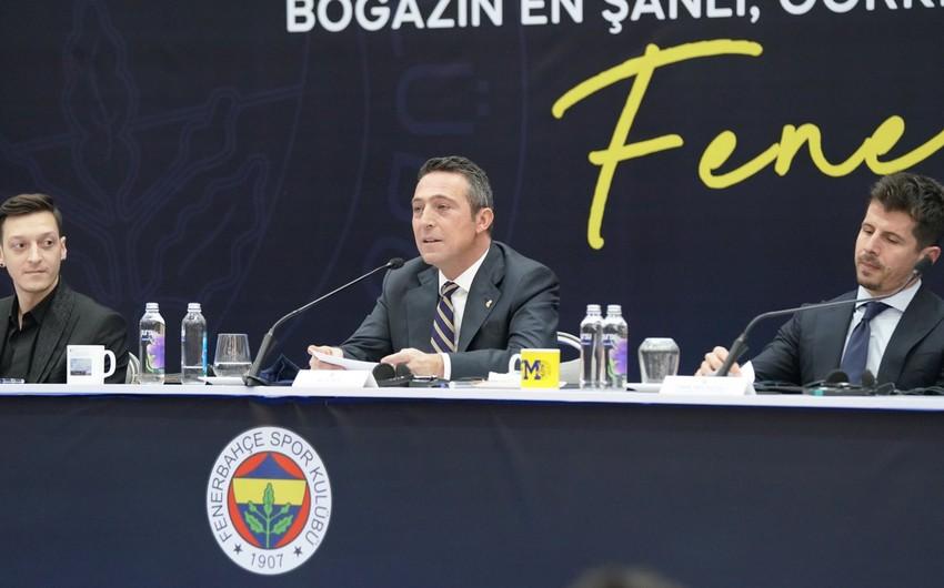 Fənərbağçanın prezidenti: Azərbaycanda oyun keçirmək xəyalımdır