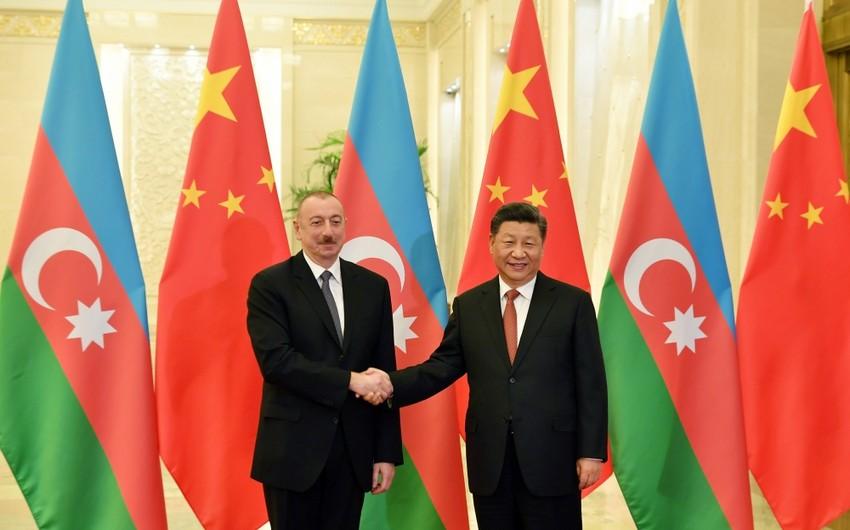 Azərbaycan və Çin liderləri arasında telefon danışığı olub