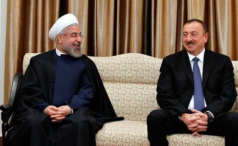 Azərbaycan və İran prezidentləri arasında görüş olub