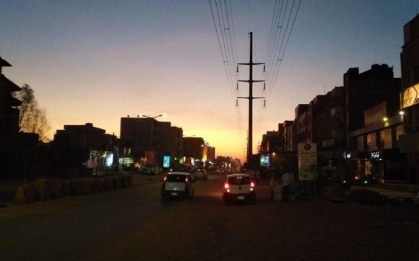 Sudanın bütün ərazilərində elektrik enerjisinin verilişi dayandırılıb