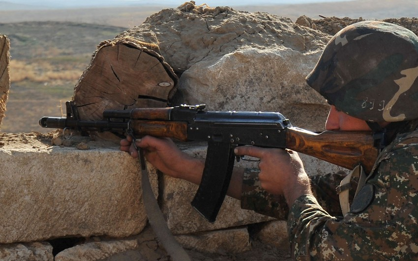 Ermənistan silahlı bölmələri atəşkəsi 126 dəfə pozub