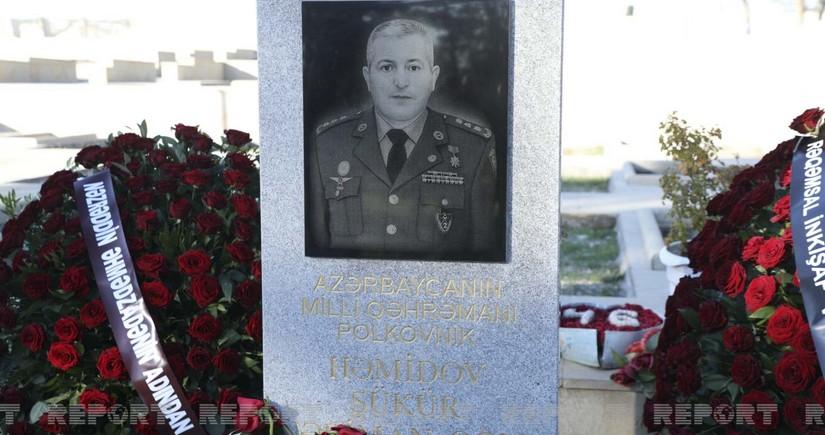Минул год с гибели Национального героя Шюкюра Гамидова