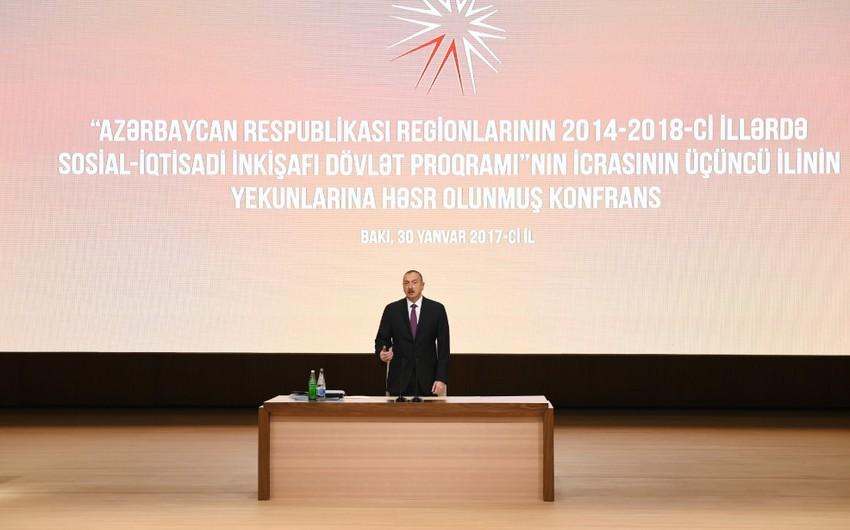 İlham Əliyev: Bizim neftimiz hələ onilliklər ərzində xalqımıza xidmət edəcək