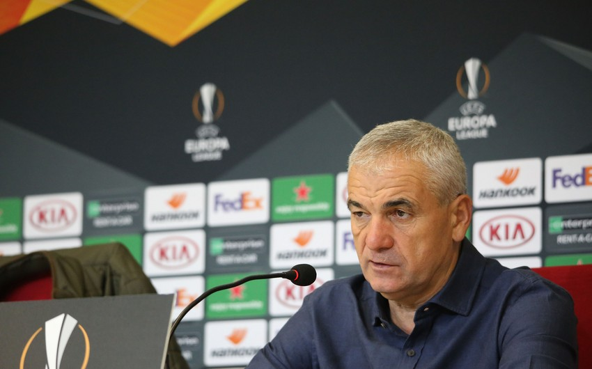 Rıza Çalımbay Qarabağla oyundan danışdı