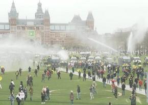 На акции в Амстердаме задержали более 150 человек - ОБНОВЛЕНО