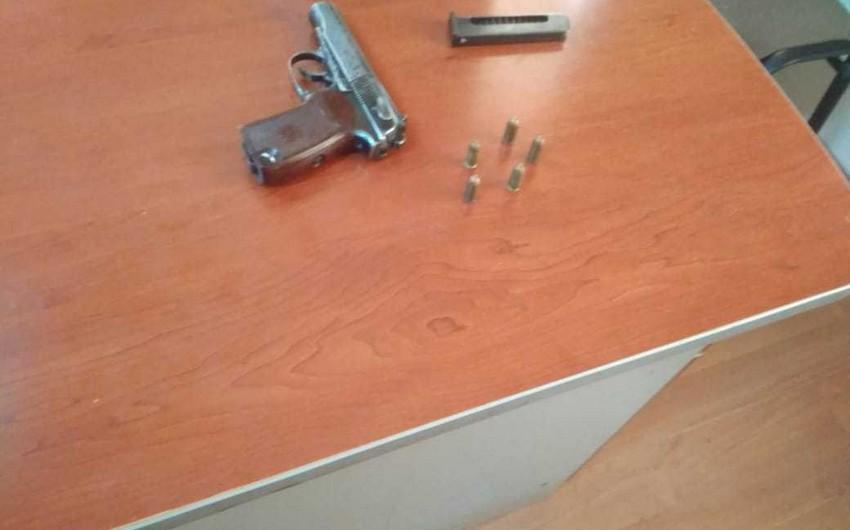 Gəncə sakinindən silah-sursat və narkotik götürülüb
