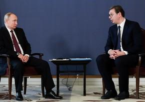Putin apologizes to Serbian President for Zakharova's post