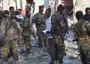 Somalidə terror aktı zamanı generallar da daxil olmaqla 35 nəfər həlak olub