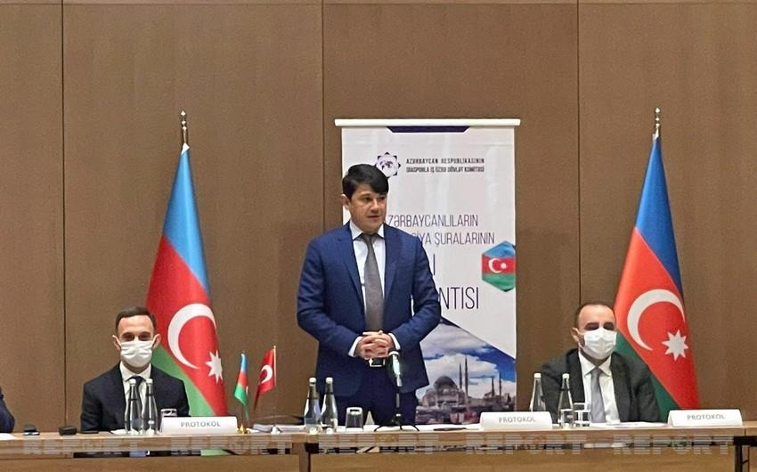 İstanbulda Azərbaycanlıların Koordinasiya Şuralarının II Toplantısı keçirilib