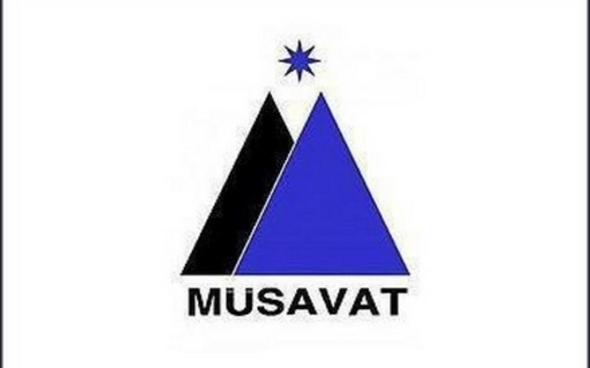 Müsavatın Suraxanı rayon təşkilatının sədri partiya Divanına çağırılıb