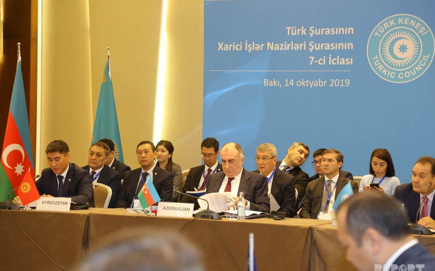 Azerbaijani Foreign Minister lists main priorities of Azerbaijan's chairmanship in Turkic Council