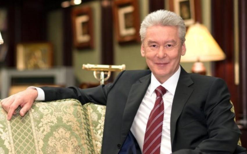 Sergey Sobyanin yenidən Moskvanın meri seçilib