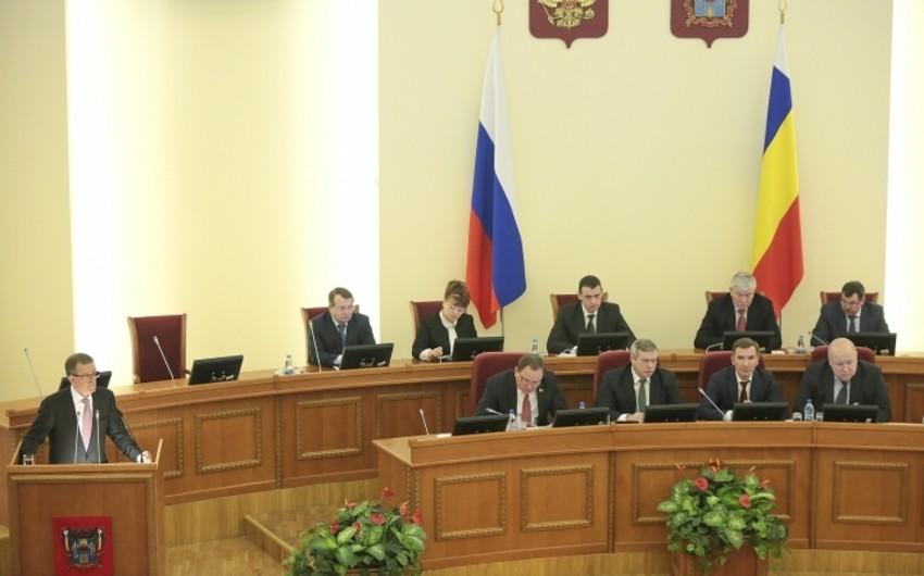 Rostov vilayəti Azərbaycanla əməkdaşlıq barədə saziş imzalamaq niyyətindədir