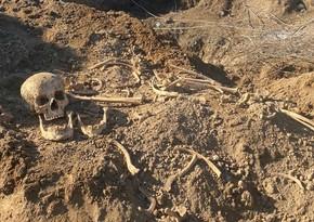 Ağdamın işğaldan azad olunan ərazisində insan sümükləri aşkarlanıb