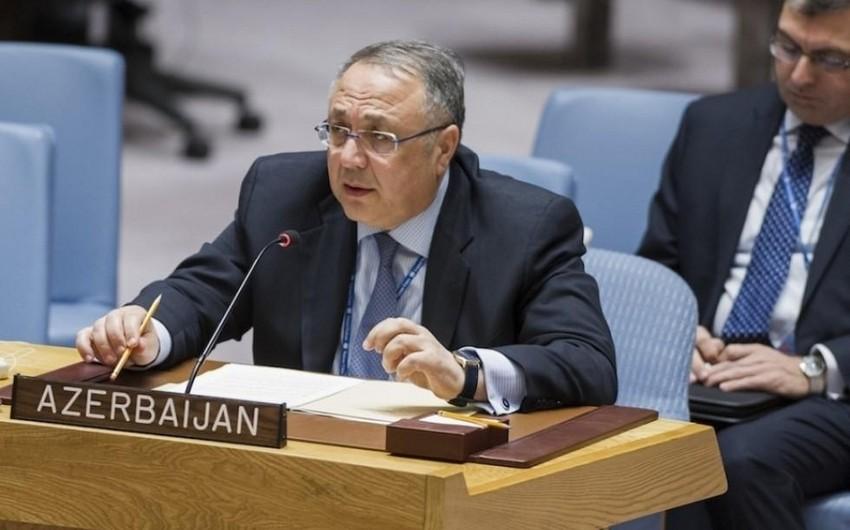 Постоянный представитель Азербайджана направил письмо генсеку ООН