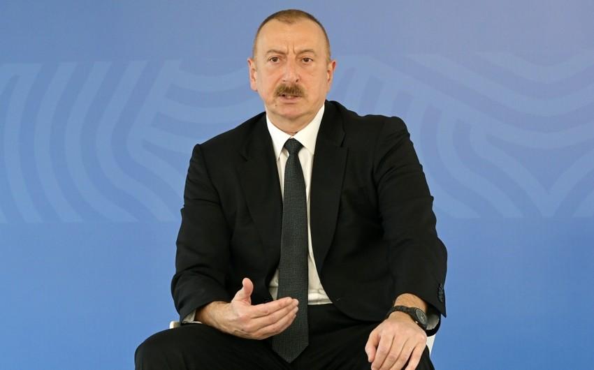 Ильхам Алиев: Пусть никто не забывает об апрельских боях