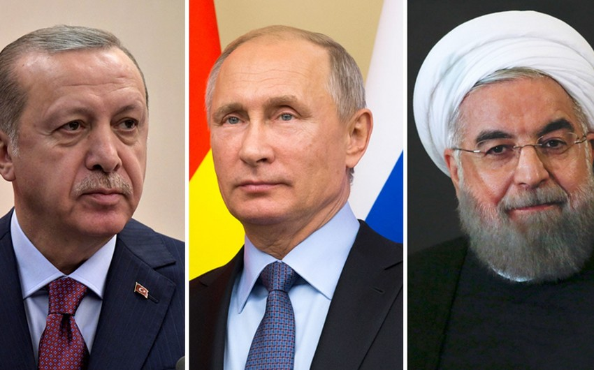 Meeting of presidents of Russia, Iran and Turkey to be held in Tehran