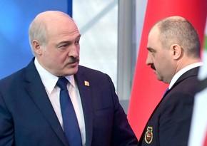Лукашенко освободил своего сына от должности