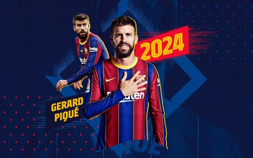 Barselona 4 futbolçusu ilə müqaviləni yenilədi