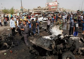 Bağdadda partlayış: 21 nəfər ölüb, 44 nəfər yaralanıb