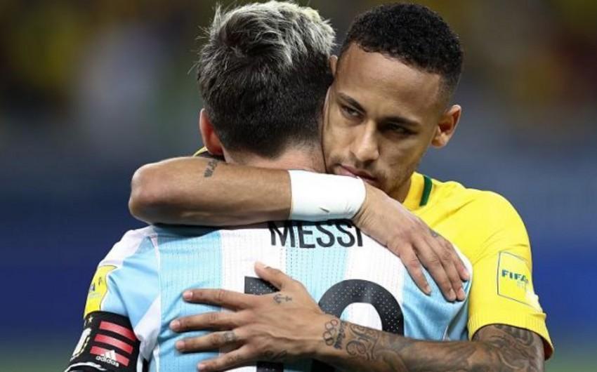 Neymar Messiyə PSJ-də 10-cu nömrəni təklif edib