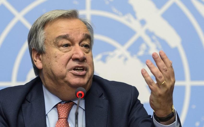 Генсек ООН осудил атаки на Гянджу