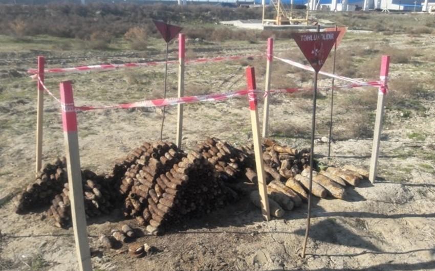 ANAMA: Ötən ay ölkə ərazisində yüzlərlə sursat zərərsizləşdirilib