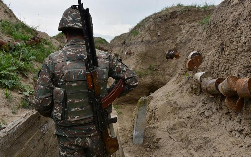 Qarabağda Ermənistan ordusunun bir hərbçisi ölüb, biri də yaralanıb