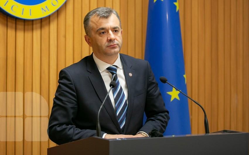 Moldovanın baş naziri koronavirusa yoluxdu