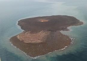 FHN vulkanın baş verdiyi yerdən görüntülər yaydı - VİDEO