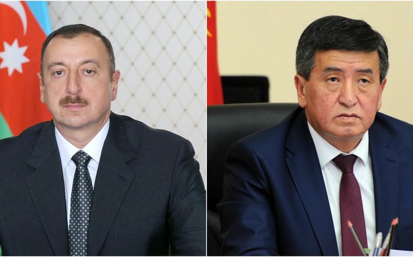 Президент Кыргызской Республики направил письмо президенту Азербайджана