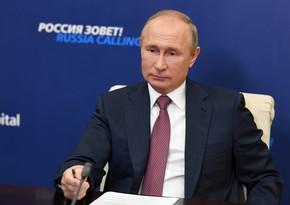 Vladimir Putin: Dünyada qaynar qlobal münaqişələrə yol vermək olmaz